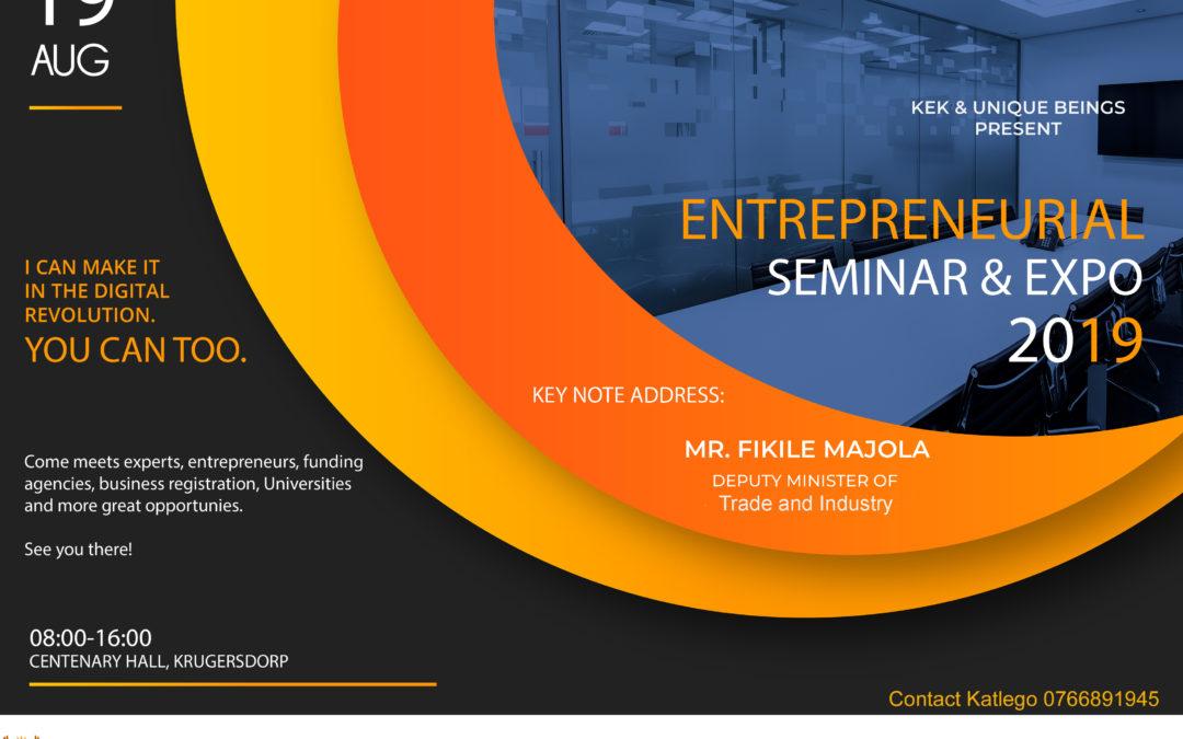2019 Entrepreneurial Seminar & Expo