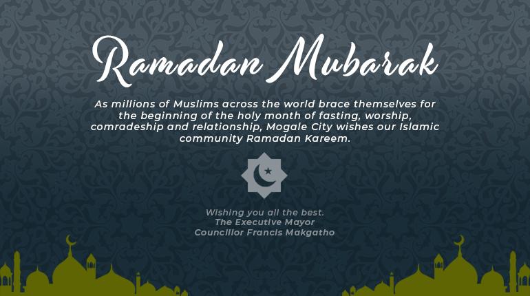 Ramadan Mubarak to our Muslim community