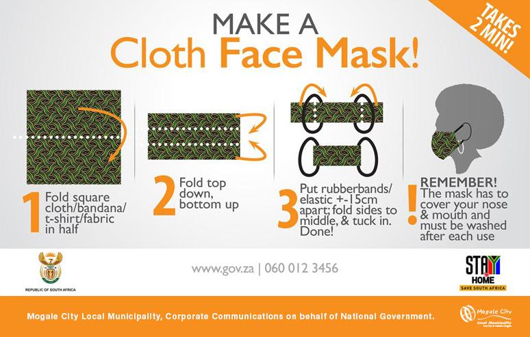 Cloth face masks become compulsory
