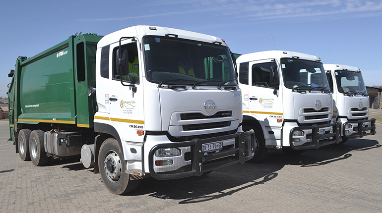 Scheduled waste collection interrupted due to Covid-19