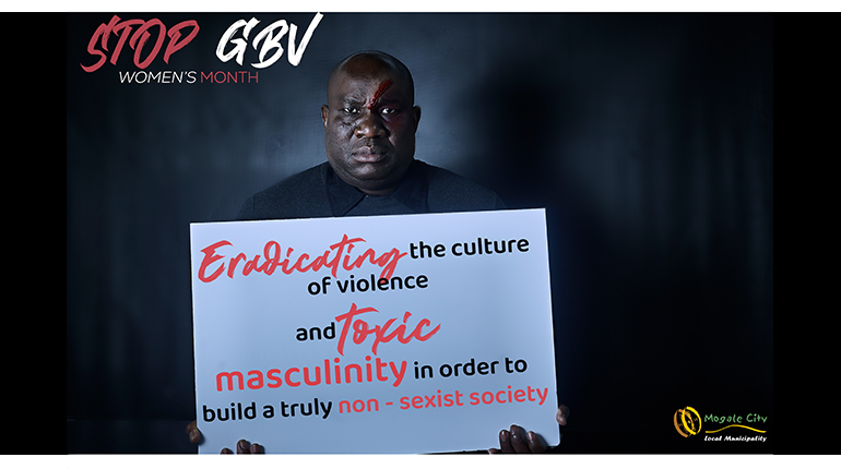 Mogale City Mayor and MMCs take a stand against GBV